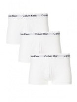 Calvin Klein Low Rise Trunks White